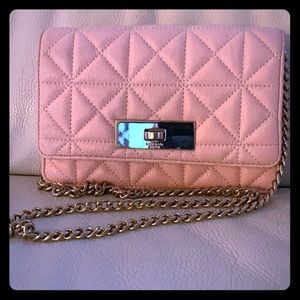 Kate Spade quilted pink crossbody preloved